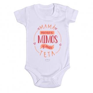 """Body bebé """"Mamá menos mimos y más teta"""""""