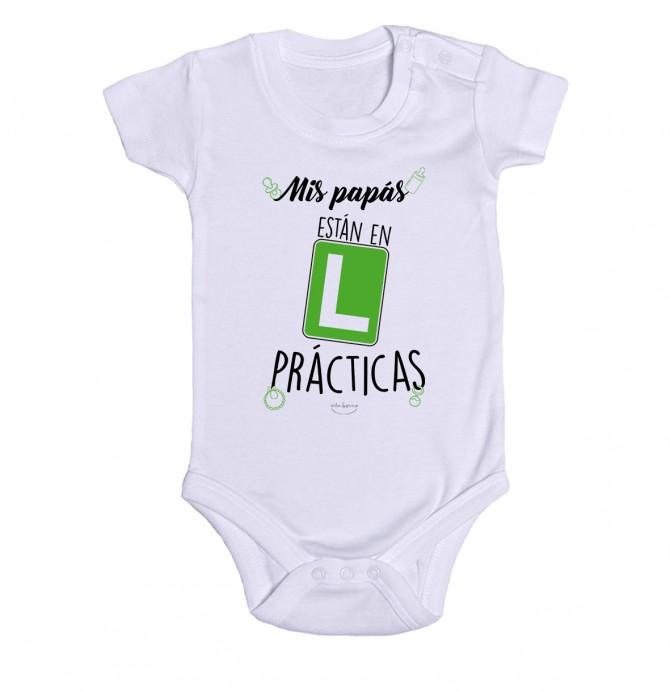 """Body bebé """"Mis papás están en prácticas"""""""