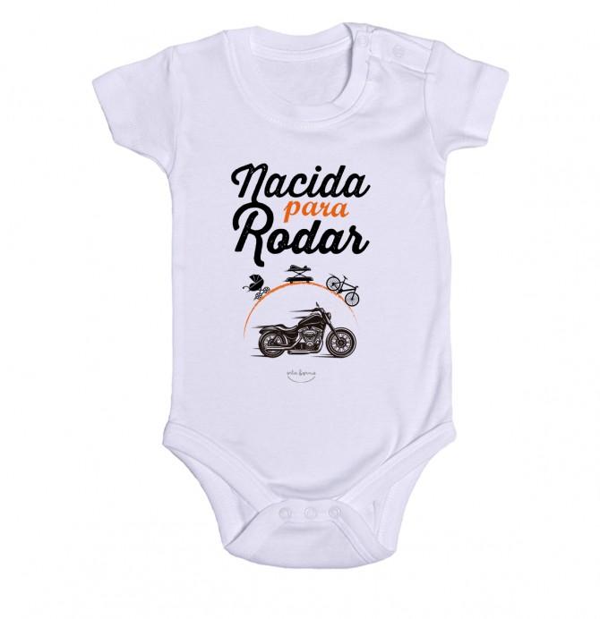 """Body bebé """"Nacida para rodar"""""""