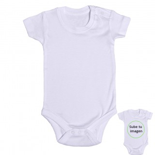 Body bebé personalizado manga corta
