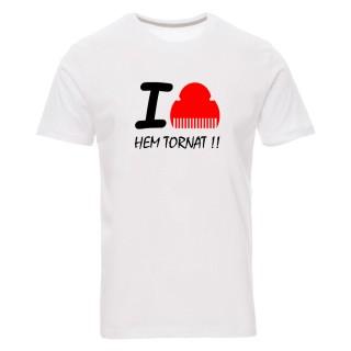 "Camiseta básica ""I love fallas"""