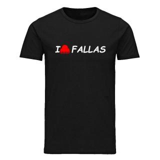 "Camiseta básica ""I peineta fallas"""