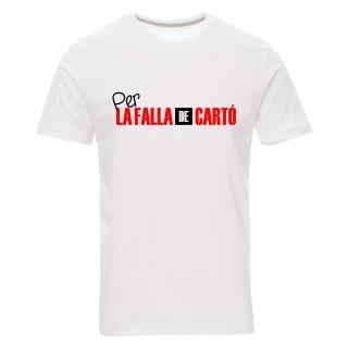 """Camiseta básica """"Per la falla de cartó"""""""