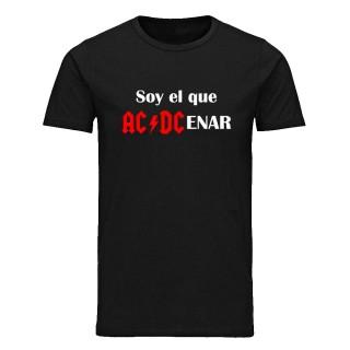 """Camiseta básica """"Soy el que ACDCenar"""""""