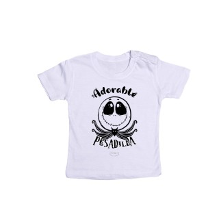 "Camiseta bebé ""Adorable pesadilla"""