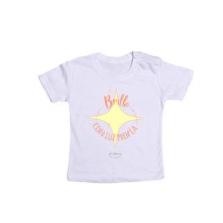 """Camiseta bebé """"Brillo con luz propia"""""""