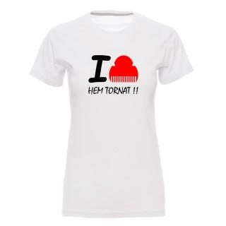 "Camiseta mujer ""I love fallas"""