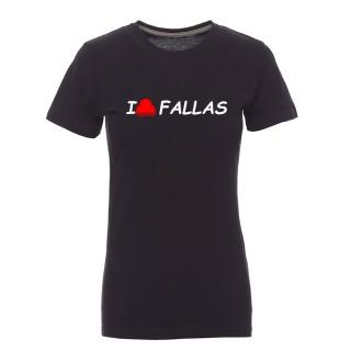"Camiseta mujer ""I peineta fallas"""