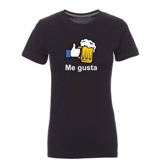 """Camiseta mujer """"Me gusta"""""""