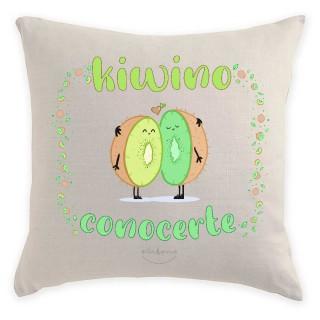 "Cojín ""Kiwino conocerte"""
