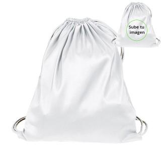 Mochila de tela niño personalizable