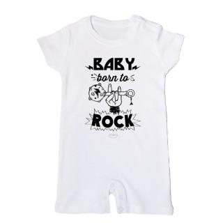 """Mono bebé """"Baby born to rock"""""""