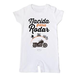 """Mono bebé """"Nacida para rodar"""""""