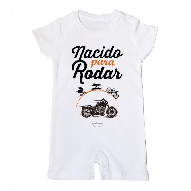 """Mono bebé """"Nacido para rodar"""""""