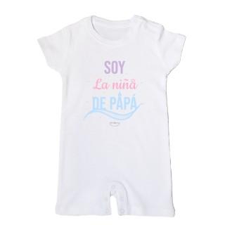 """Mono bebé """"Soy la niña de papá"""""""