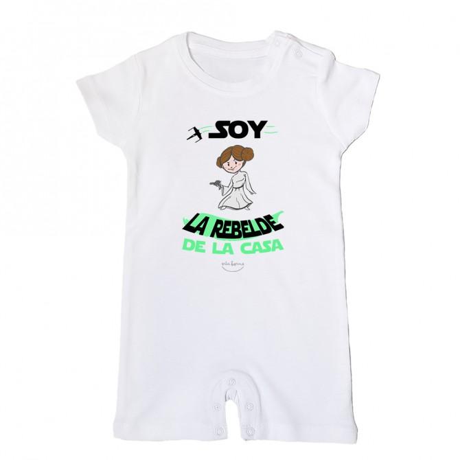 "Mono bebé ""Soy la rebelde de la casa"""